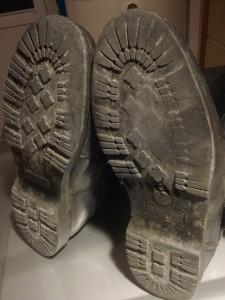 old Sidi worn soles