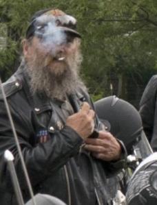 SmokingBiker