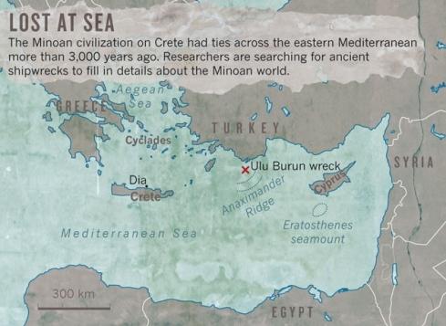 Minoan wrecks