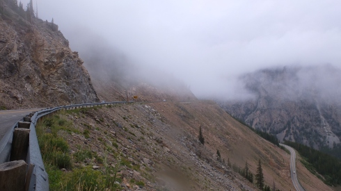 Beartooth rain and mist